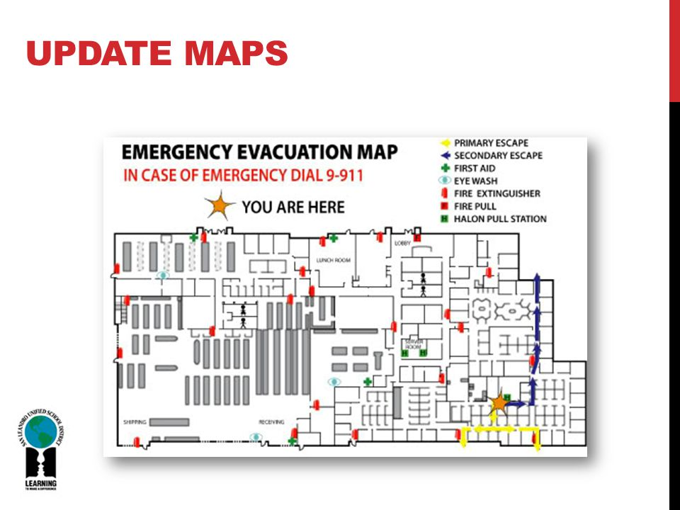 UPDATE MAPS