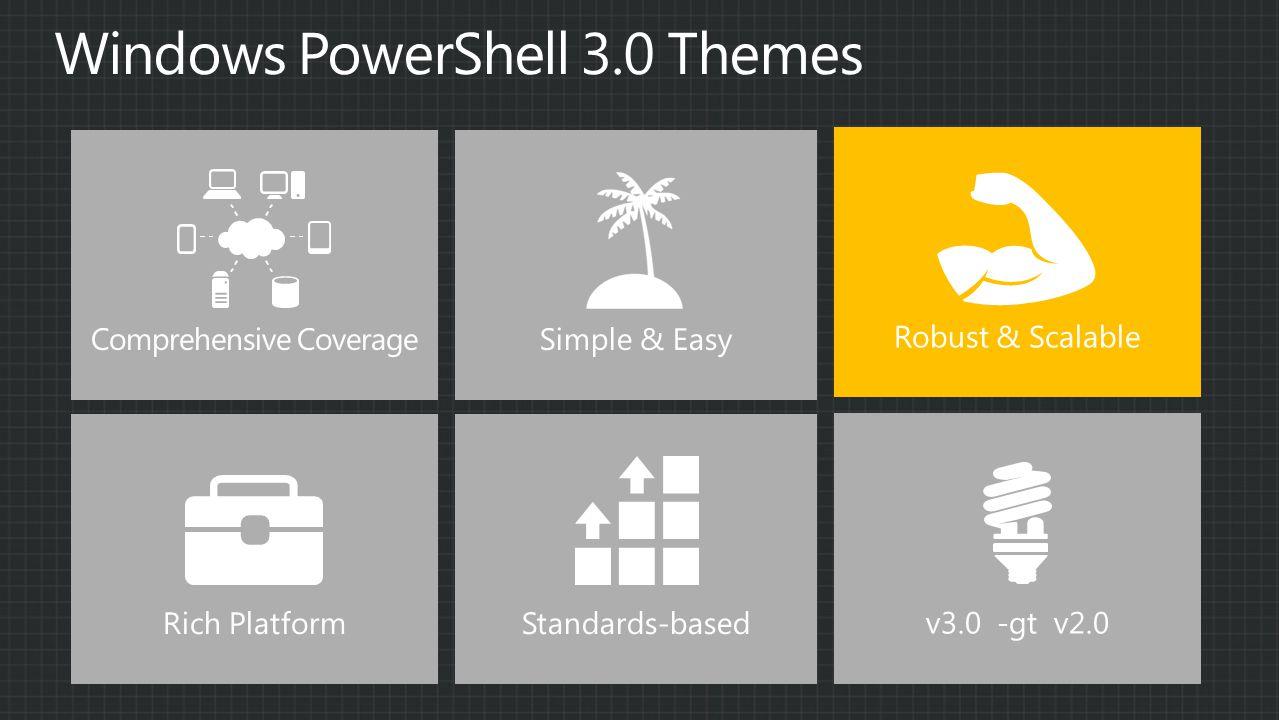 Simple & Easy v3.0 -gt v2.0 Robust & Scalable Comprehensive Coverage Rich PlatformStandards-based