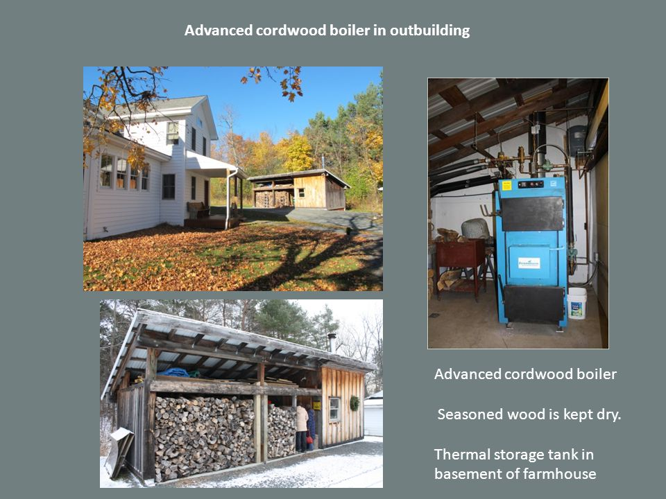 Maximizing performance with thermal storage 1250 gallons