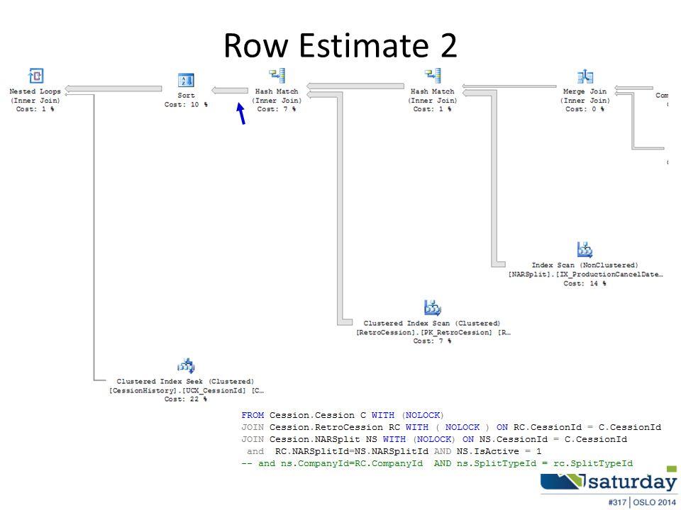 Row Estimate 2