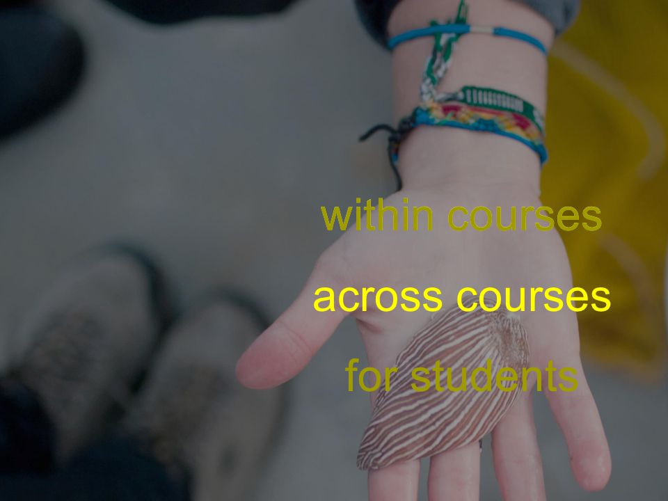 across courses for students within courses across courses for students