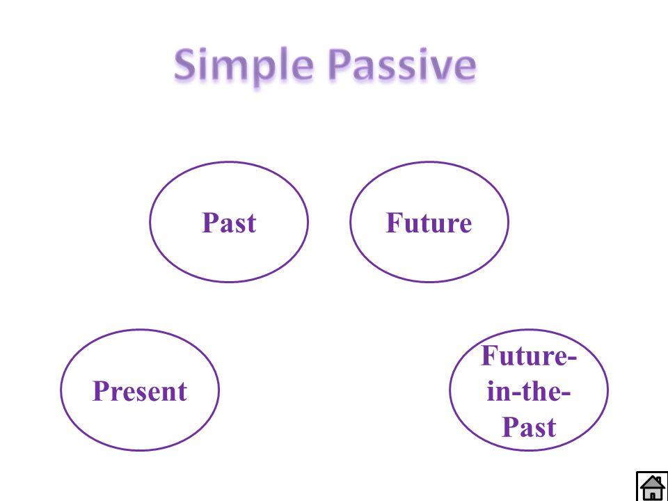 Present PastFuture Future- in-the- Past