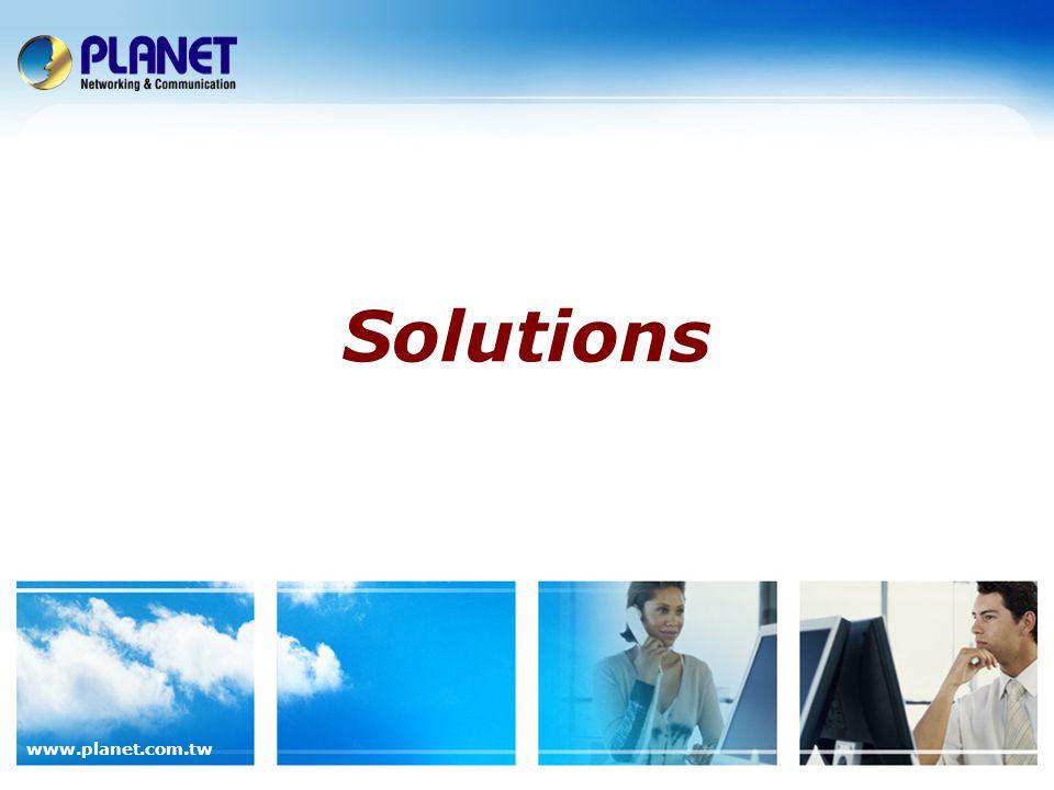 www.planet.com.tw Solutions