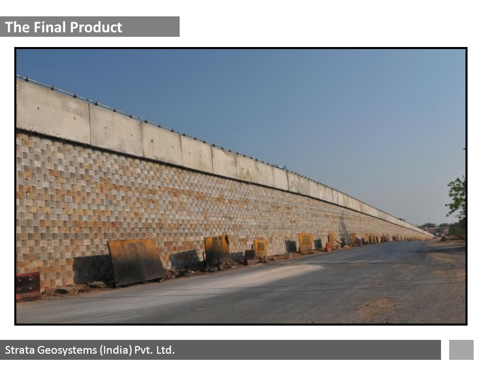 Strata Geosystems (India) Pvt. Ltd. The Final Product