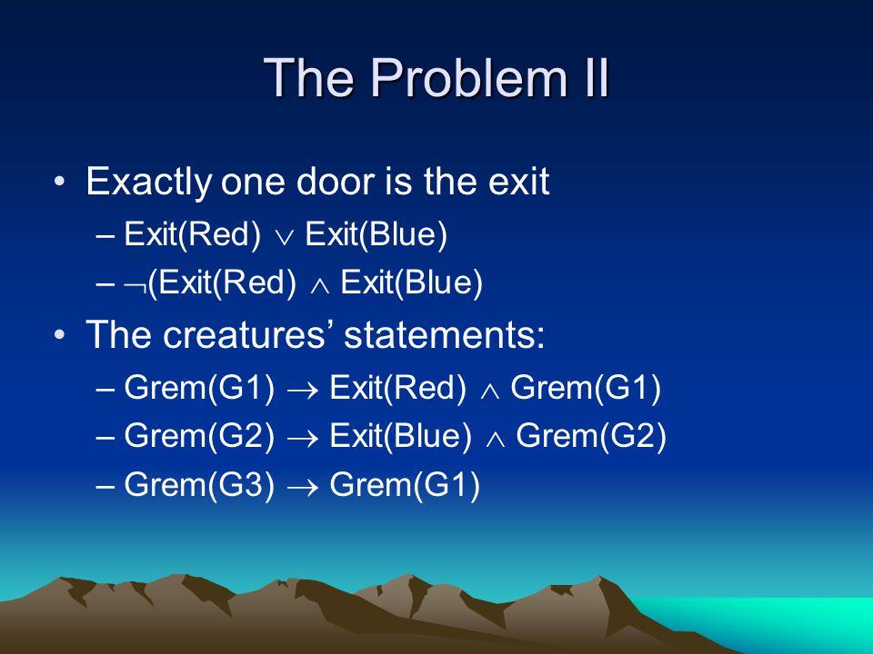 Describing the Negated Goal Goal:  e Exit(e) Negated goal:  e  Exit(e)