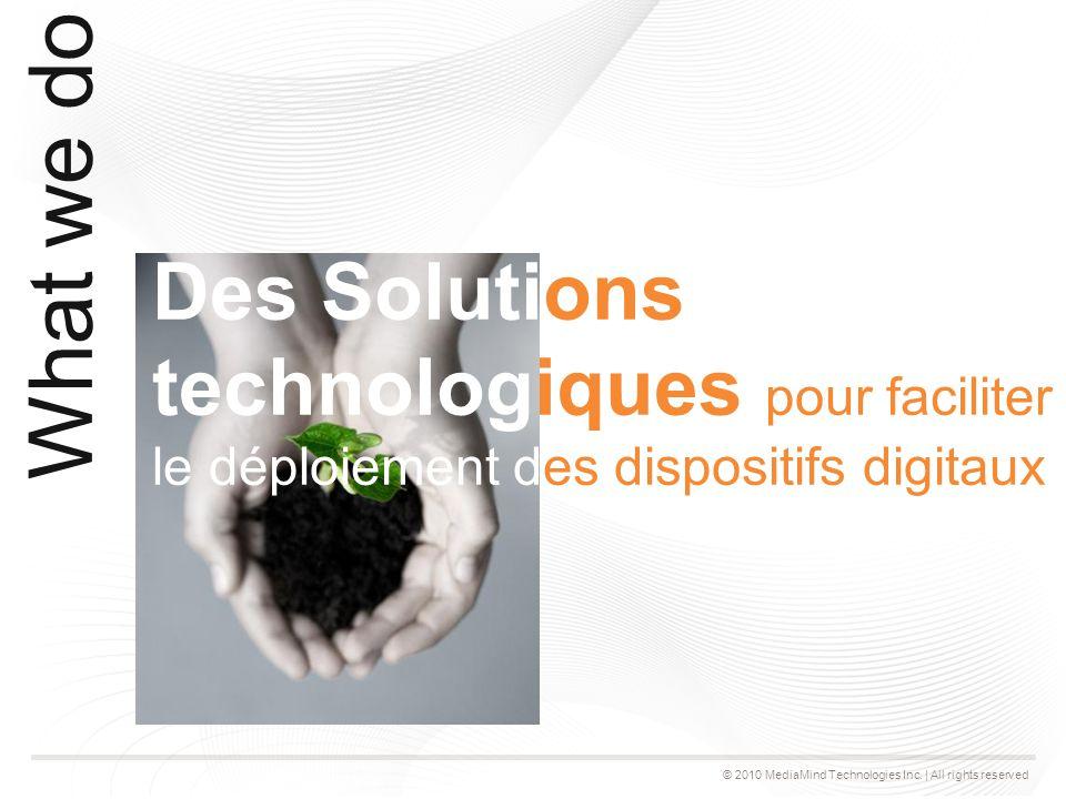 © 2010 MediaMind Technologies Inc.