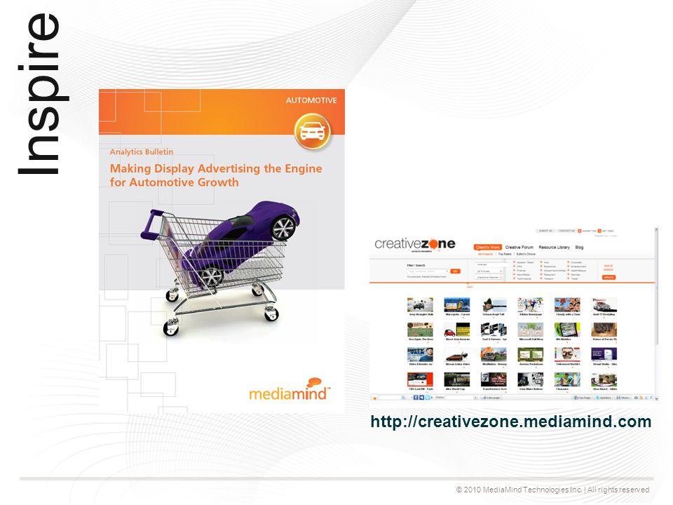 © 2010 MediaMind Technologies Inc. | All rights reserved Mesurer l'impact réel des campagnes