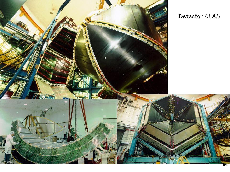 64 Detector CLAS