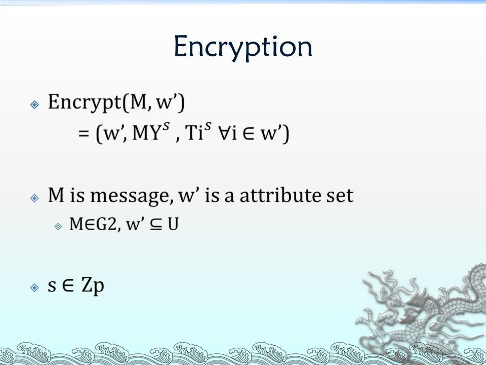 Decryption  40