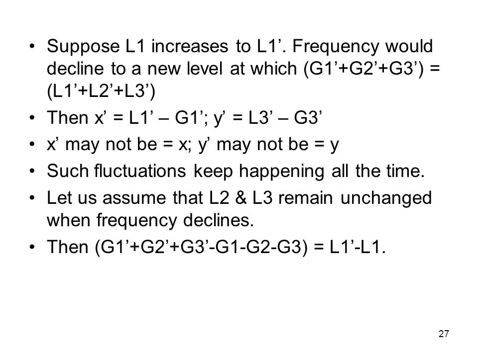 27 Suppose L1 increases to L1'.