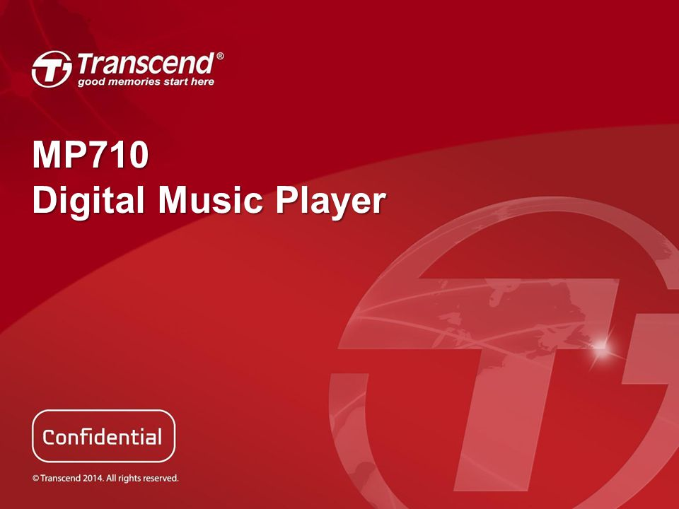 MP710 Digital Music Player