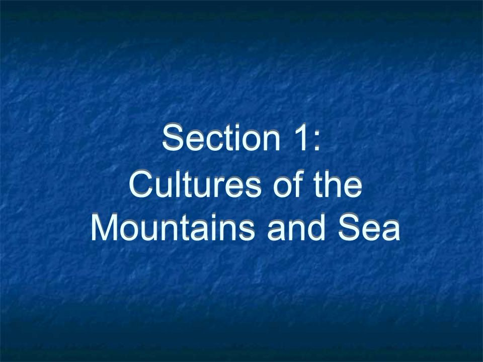 Classical Greece 2000 B.C.E. - 300 B.C.E.