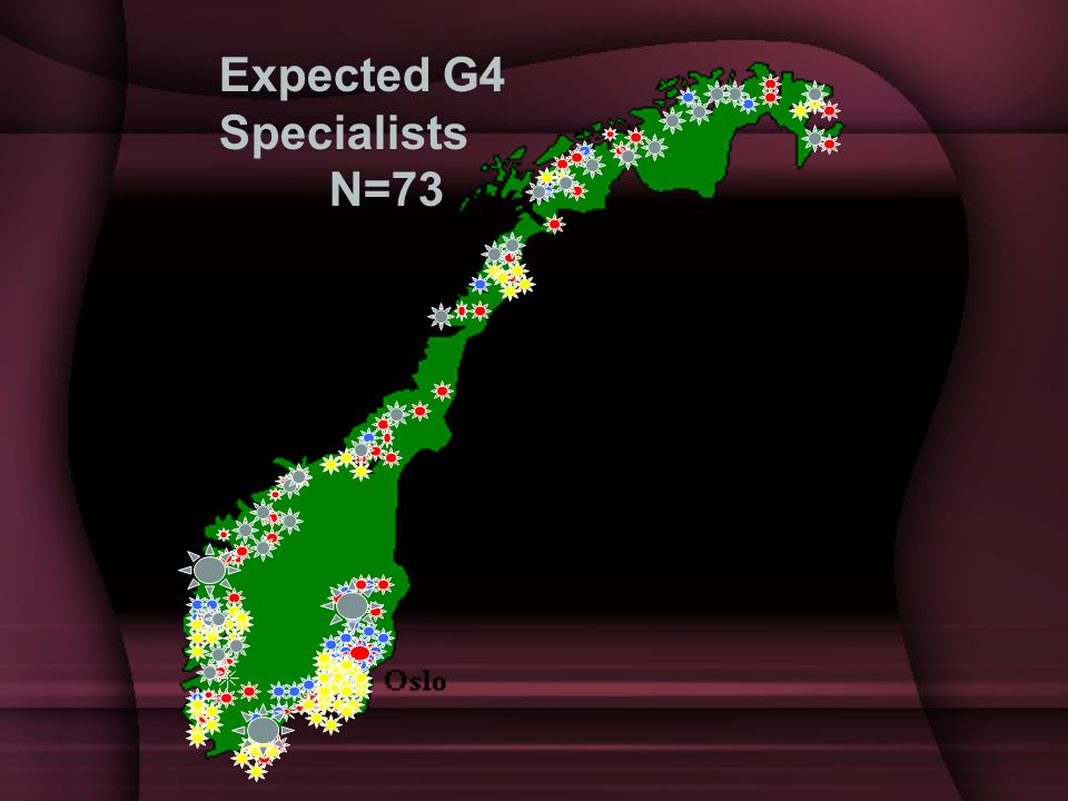 Expected G4 Specialists N=73