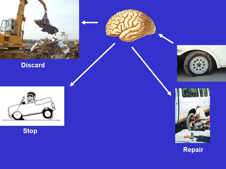 Stop Repair Discard