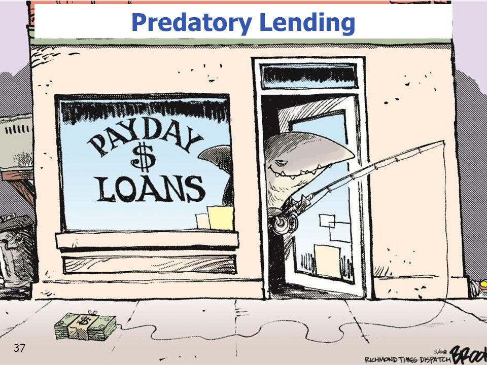 Predatory Lending 37