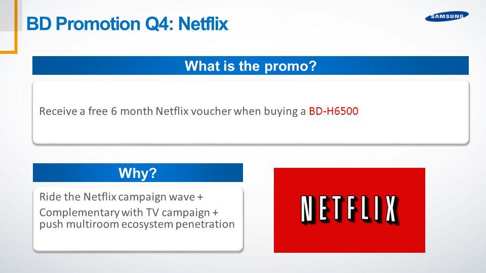 BD Promotion Q4: Netflix