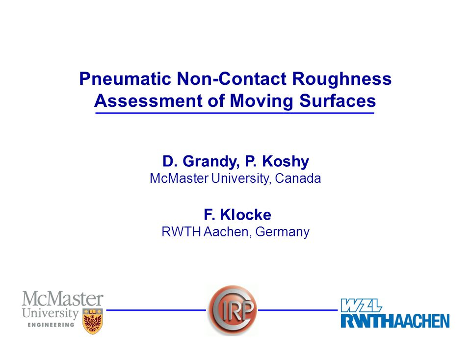12/23 Pneumatic Non-contact Roughness Assessment of Moving Surfaces D.