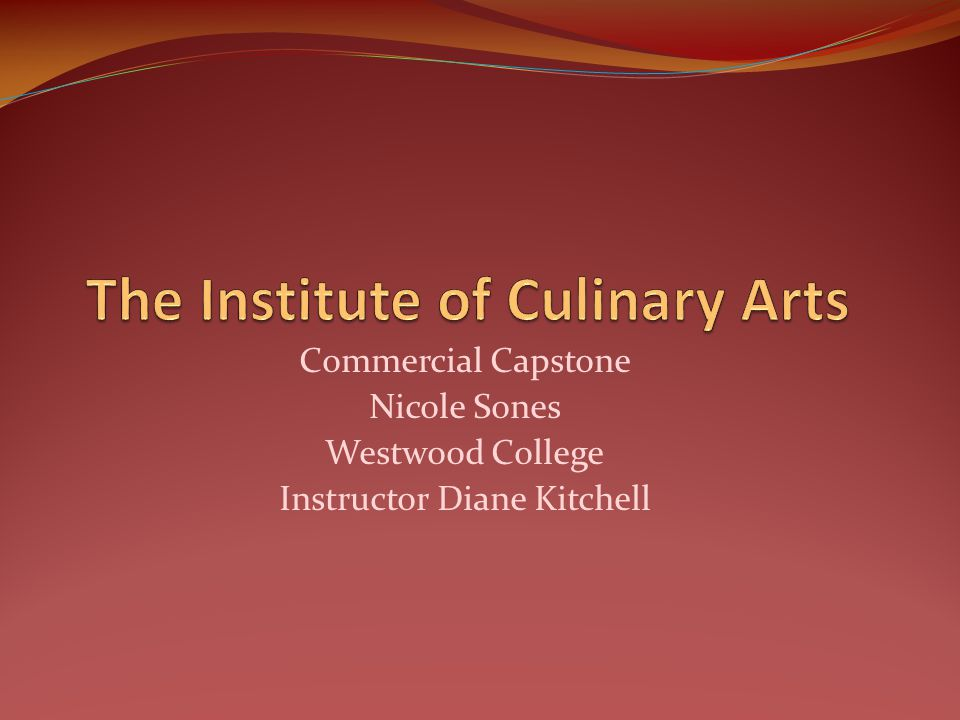 Commercial Capstone Nicole Sones Westwood College Instructor Diane Kitchell