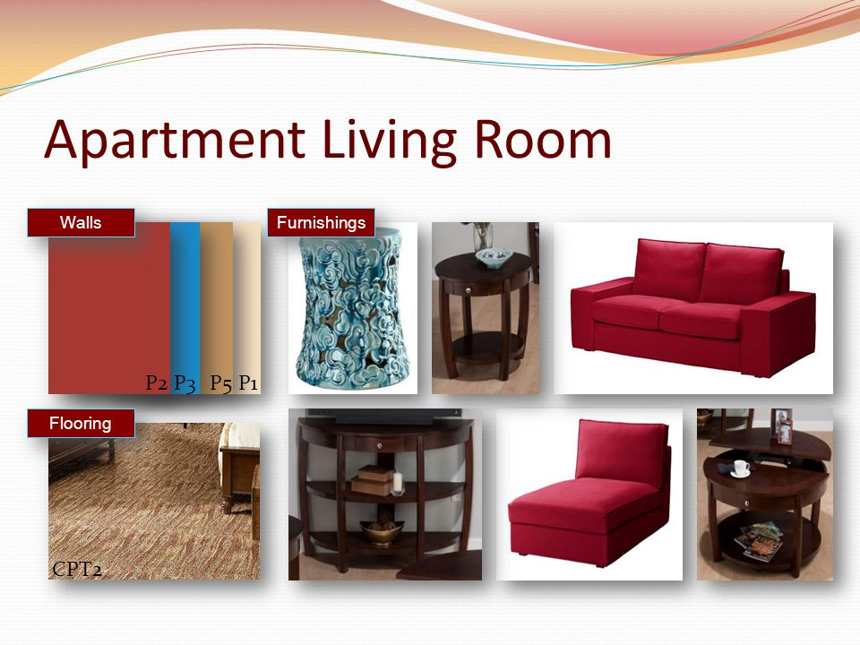 Apartment Living Room Furnishings Walls Flooring CPT2 P1P2P3P5