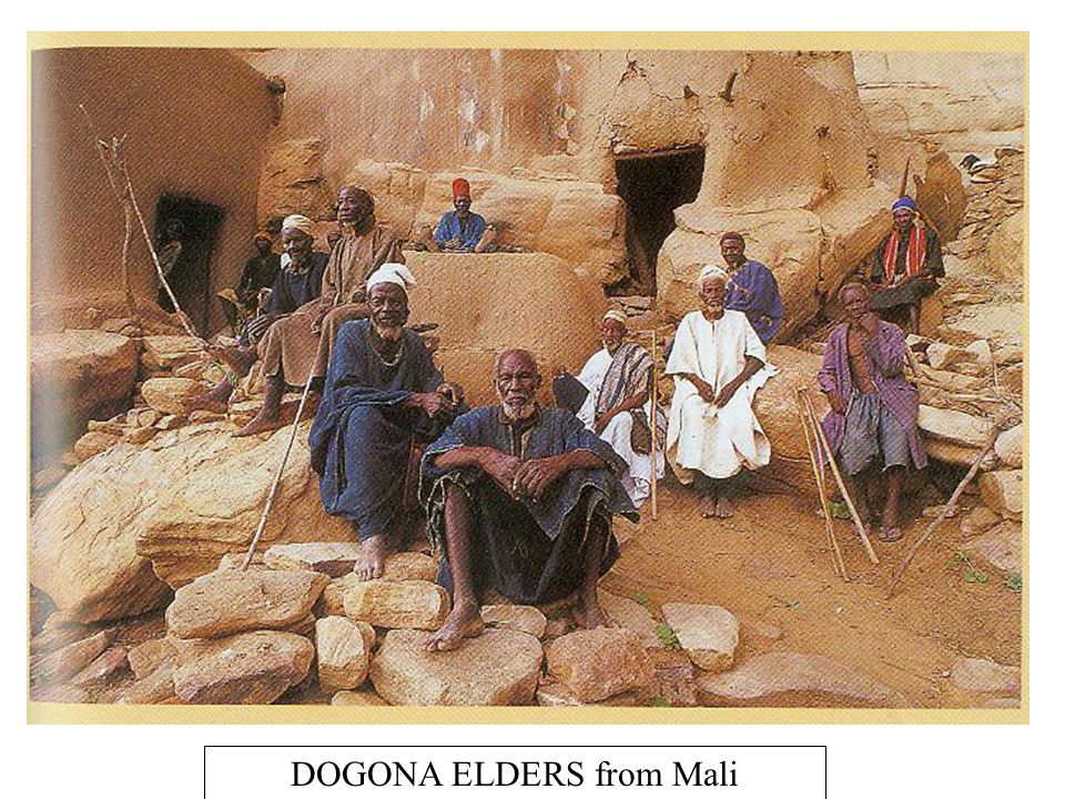 DOGONA ELDERS from Mali