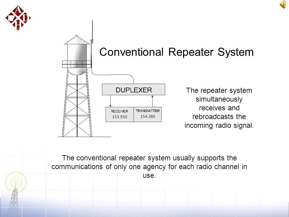 System Overview In the early days of public safety radio, communications went direct from a dispatch station to mobile units in the field. This arrang