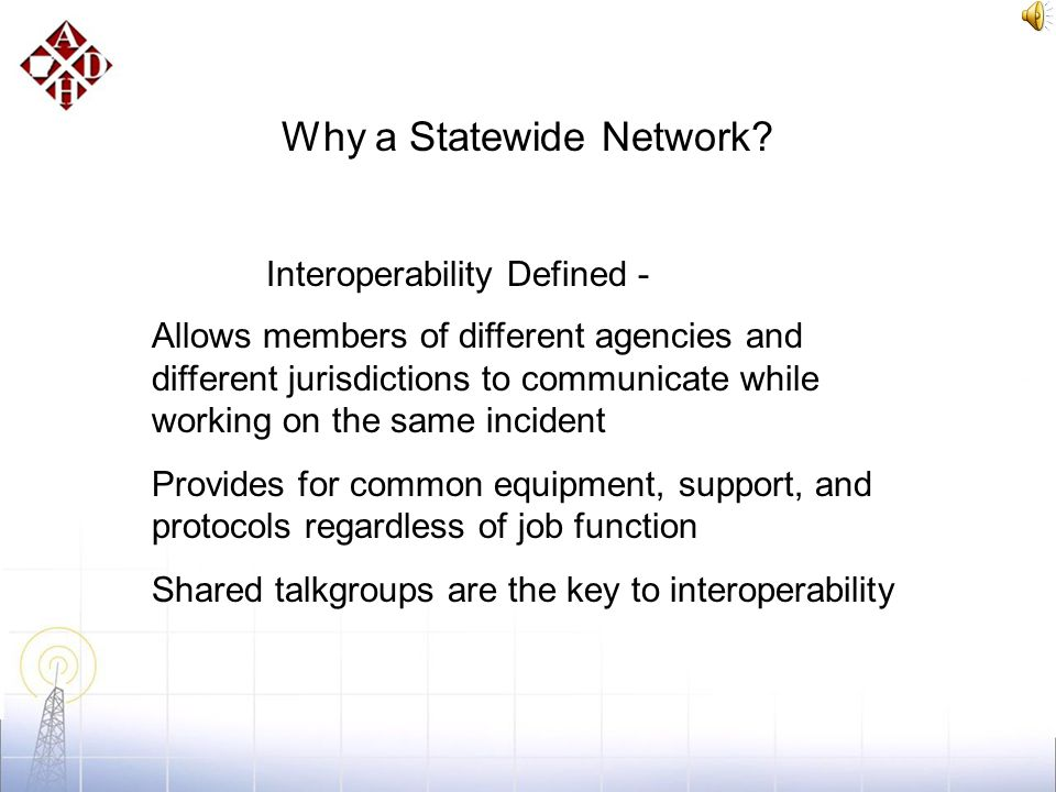 Introduction Arkansas Wireless Information Network (AWIN) is a multi-phased program to leverage new and existing wireless resources to create a statew