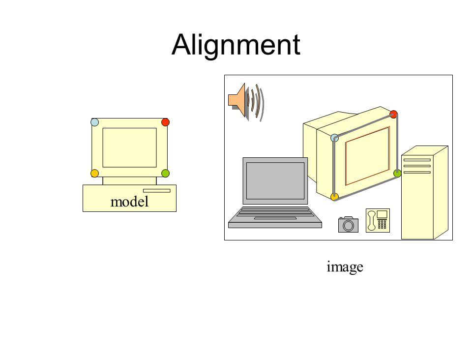 Alignment model image