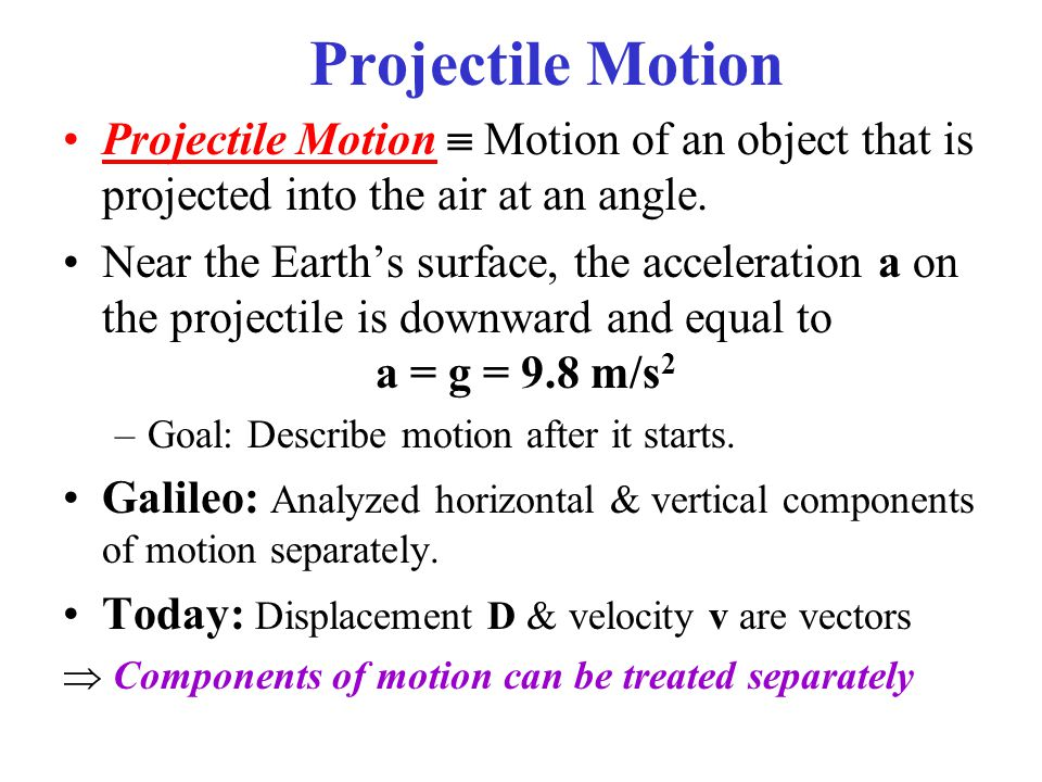 Example 3-5: Kicked football A football is kicked at an angle θ 0 = 37.0° with a velocity of 20.0 m/s, as shown.