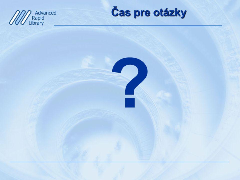 Čas pre otázky ?