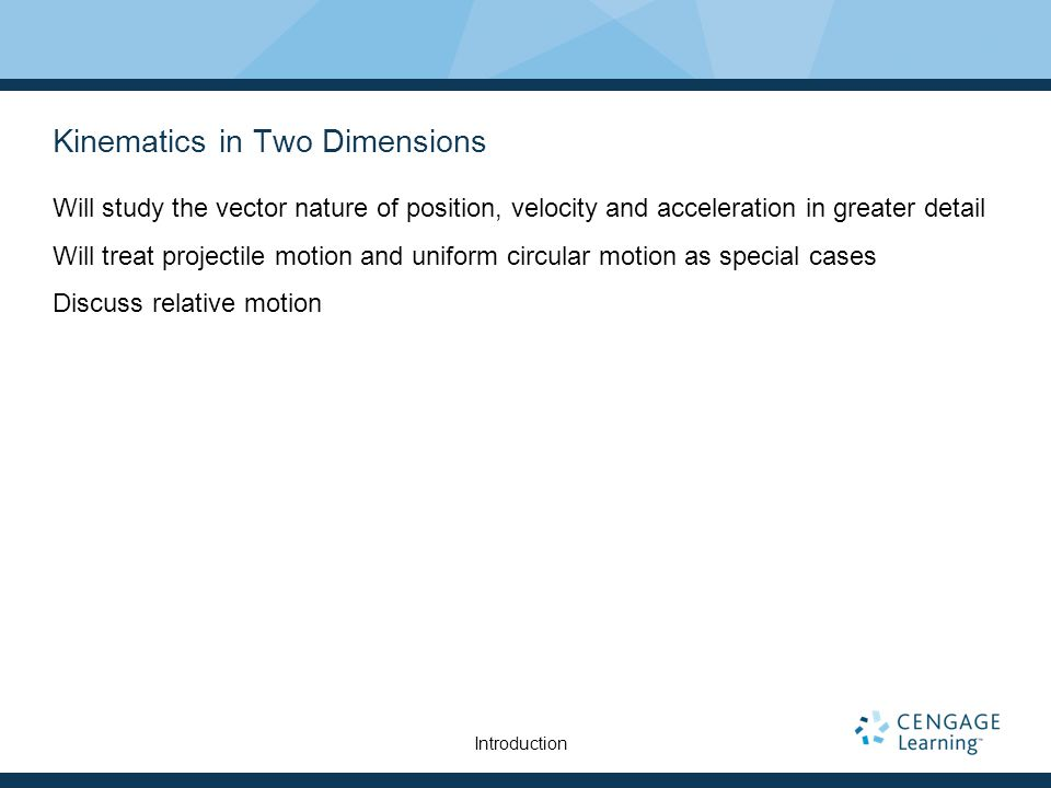 Non-Symmetric Projectile Motion Follow the general rules for projectile motion.