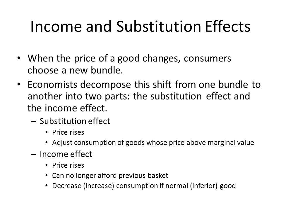 Non-Giffen Goods and Giffen Goods