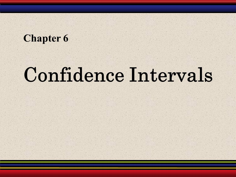 12 Confidence Intervals for μ Example continued: Construct a 95% confidence interval for the mean price of all textbooks in the bookstore.