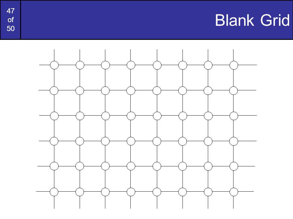 47 of 50 Blank Grid