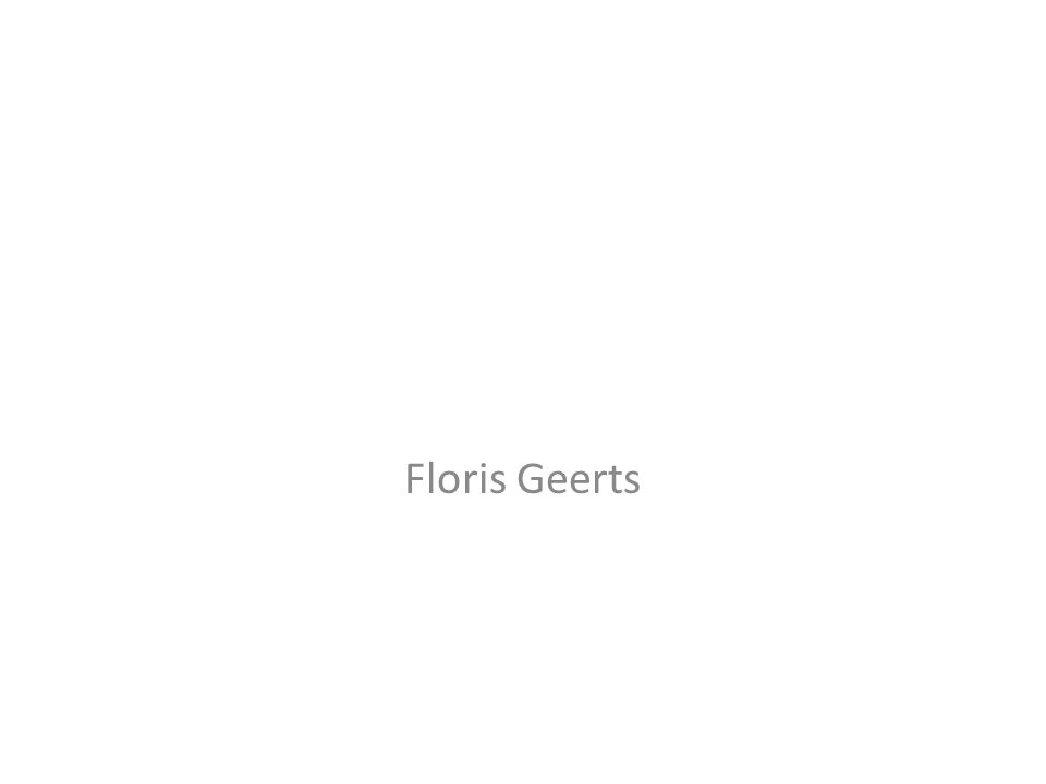Floris Geerts