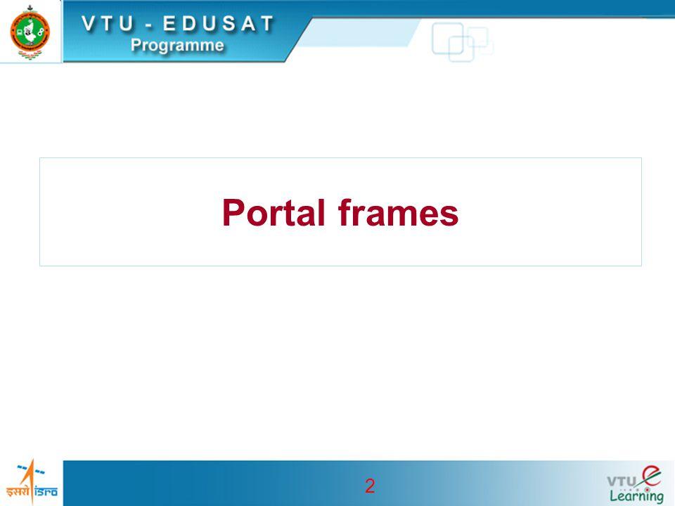 2 Portal frames