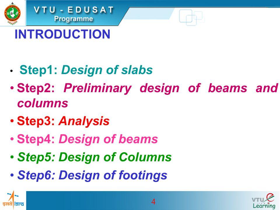 25 Step4:Design of Rectangular beam: Design moment M uB =234 kN-m M uB /bd 2 = 234x106/450x700 2  1.1 From table 2 of SP16 p t =0.327 A st =0.327 x 450 x 700 / 100 = 1030 No of 20 mm dia bar = 1030/(  x20 2 /4) =3.2 Hence 4 Nos.