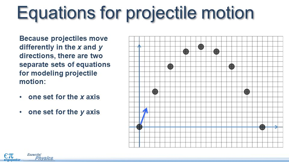 Projectile motion A projectile is fired horizontally off the top of a cliff with an initial velocity of 30 m/s.