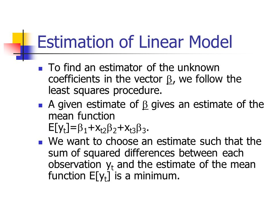 LS Objective function