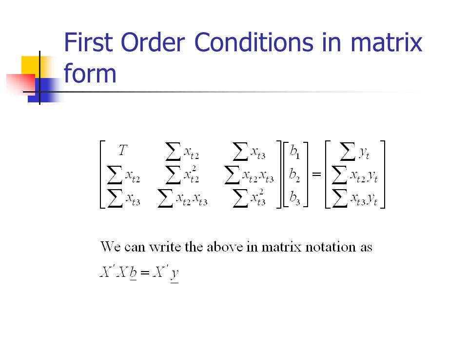 Least-squares solution