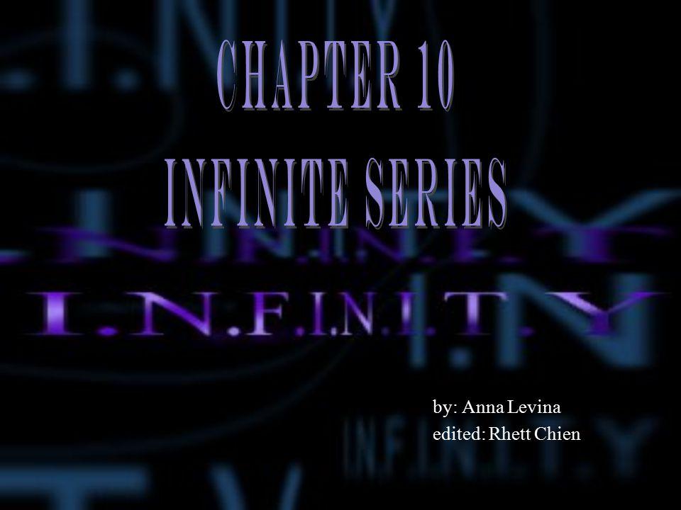 Measuring infinity