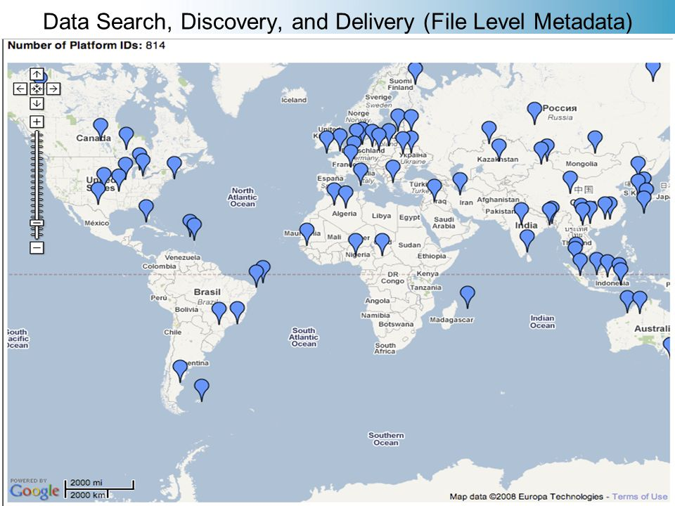 Data Search, Discovery, and Delivery (File Level Metadata)