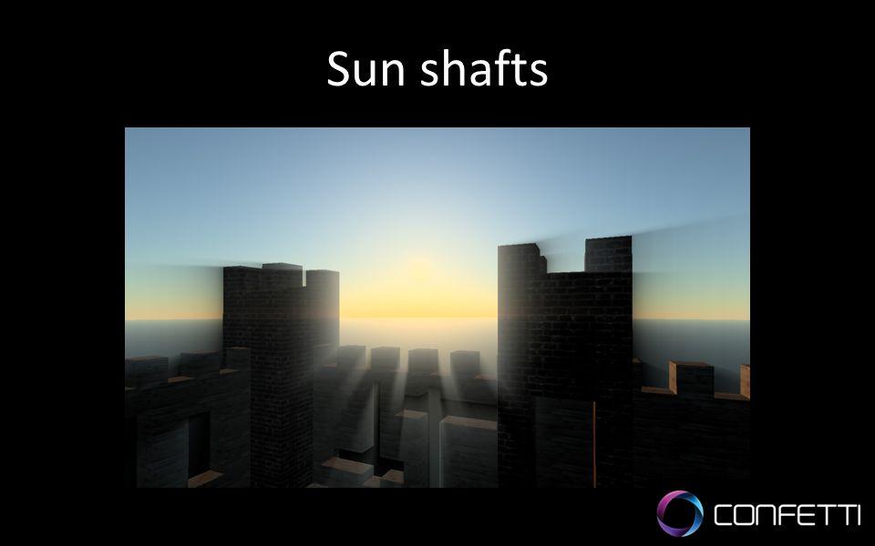 Sun shafts