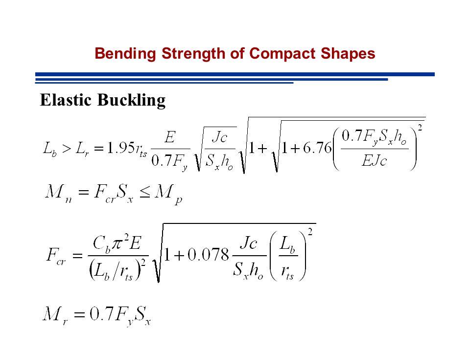 Elastic Buckling