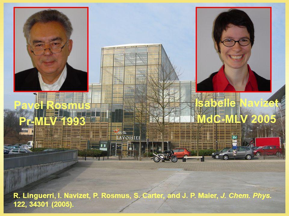 Pavel Rosmus Pr-MLV 1993 Isabelle Navizet MdC-MLV 2005 R.