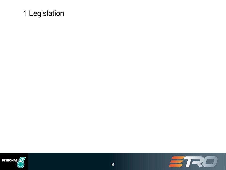 1 Legislation 6