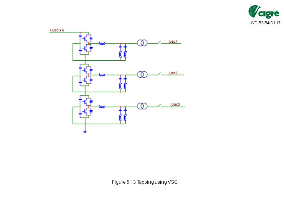 JWG-B2/B4/C1.17 Figure 5.13 Tapping using VSC