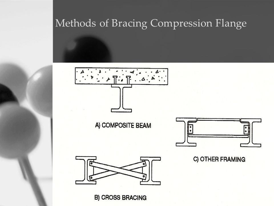Methods of Bracing Compression Flange