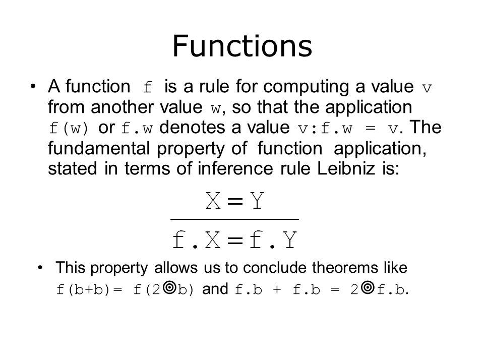 Functions and programming In programming functions can have 'side effects' i.e.