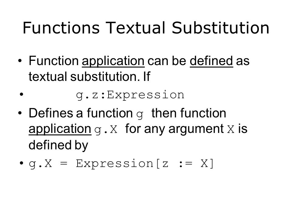 Function Def.& Types A binary relation f on B  C, is called a function iff it is determinate.
