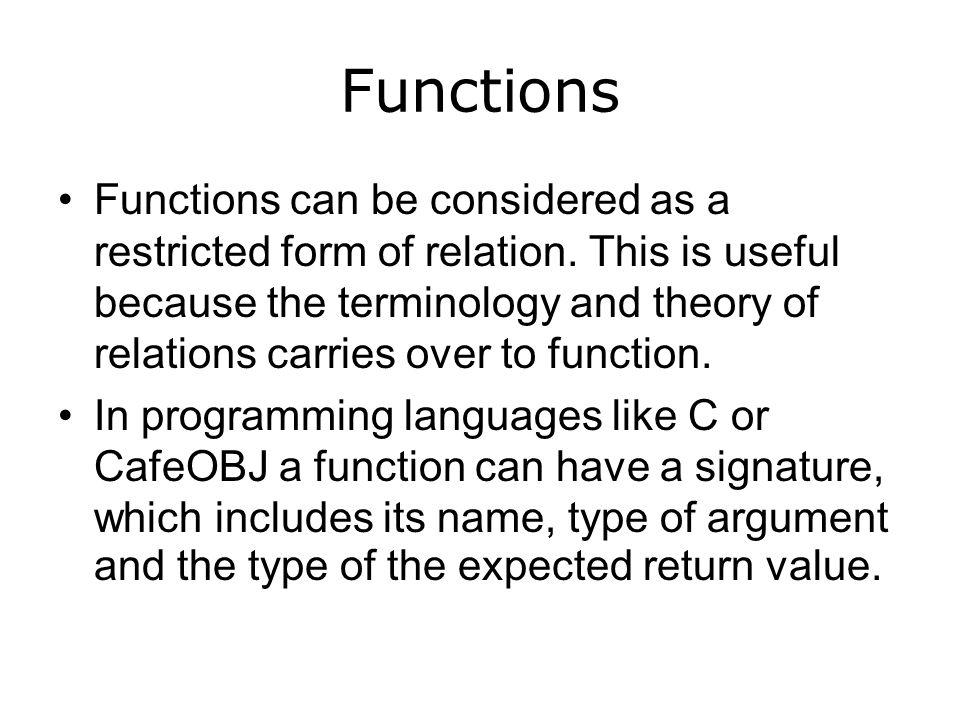 Fibonacci Function in C and CafeOBJ mod* FIBO-NAT { pr(NAT) op fib : Nat -> Nat var N : Nat eq fib(0) = 0.